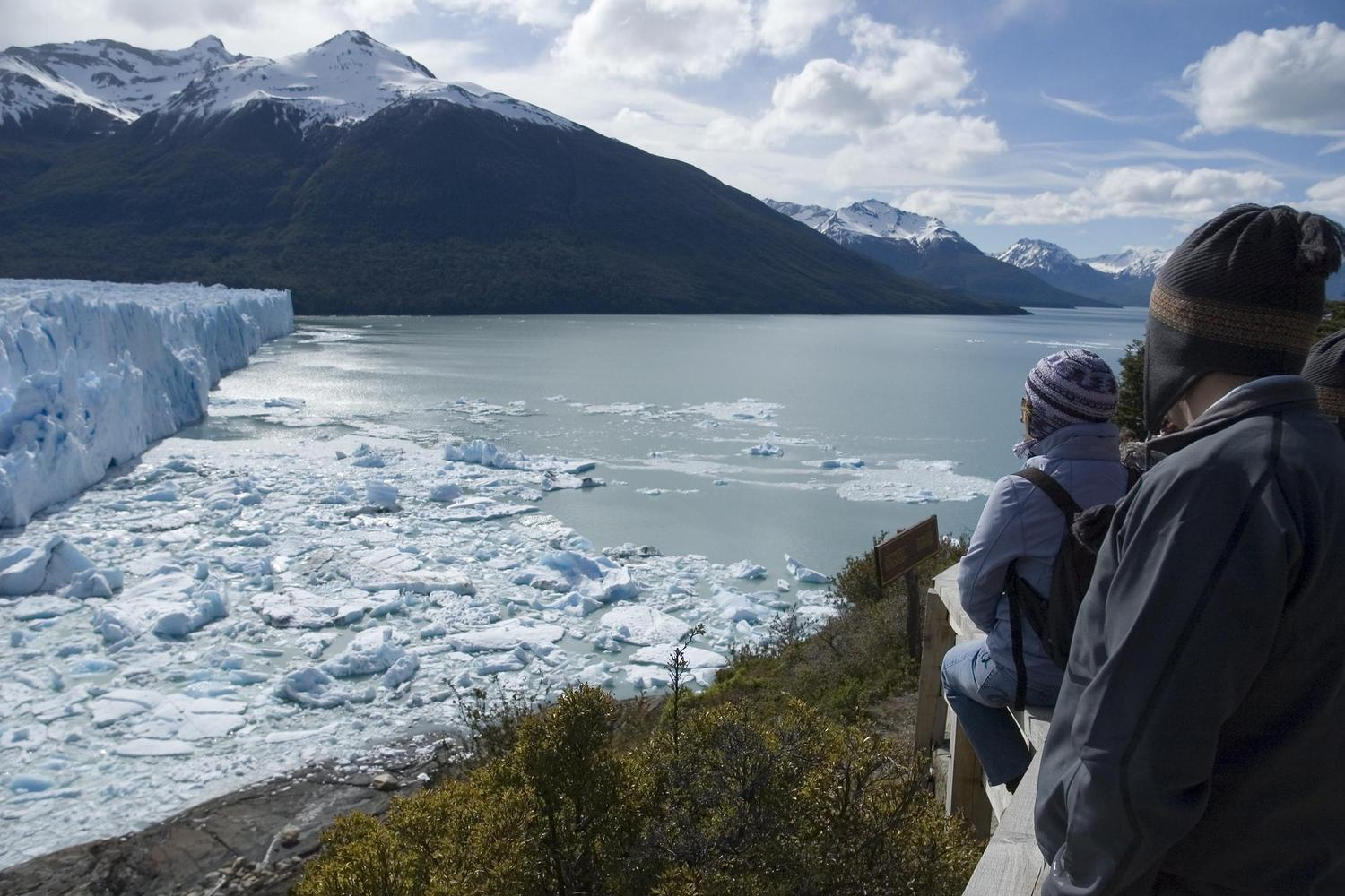 There are many vantage points for great views of Perito Moreno