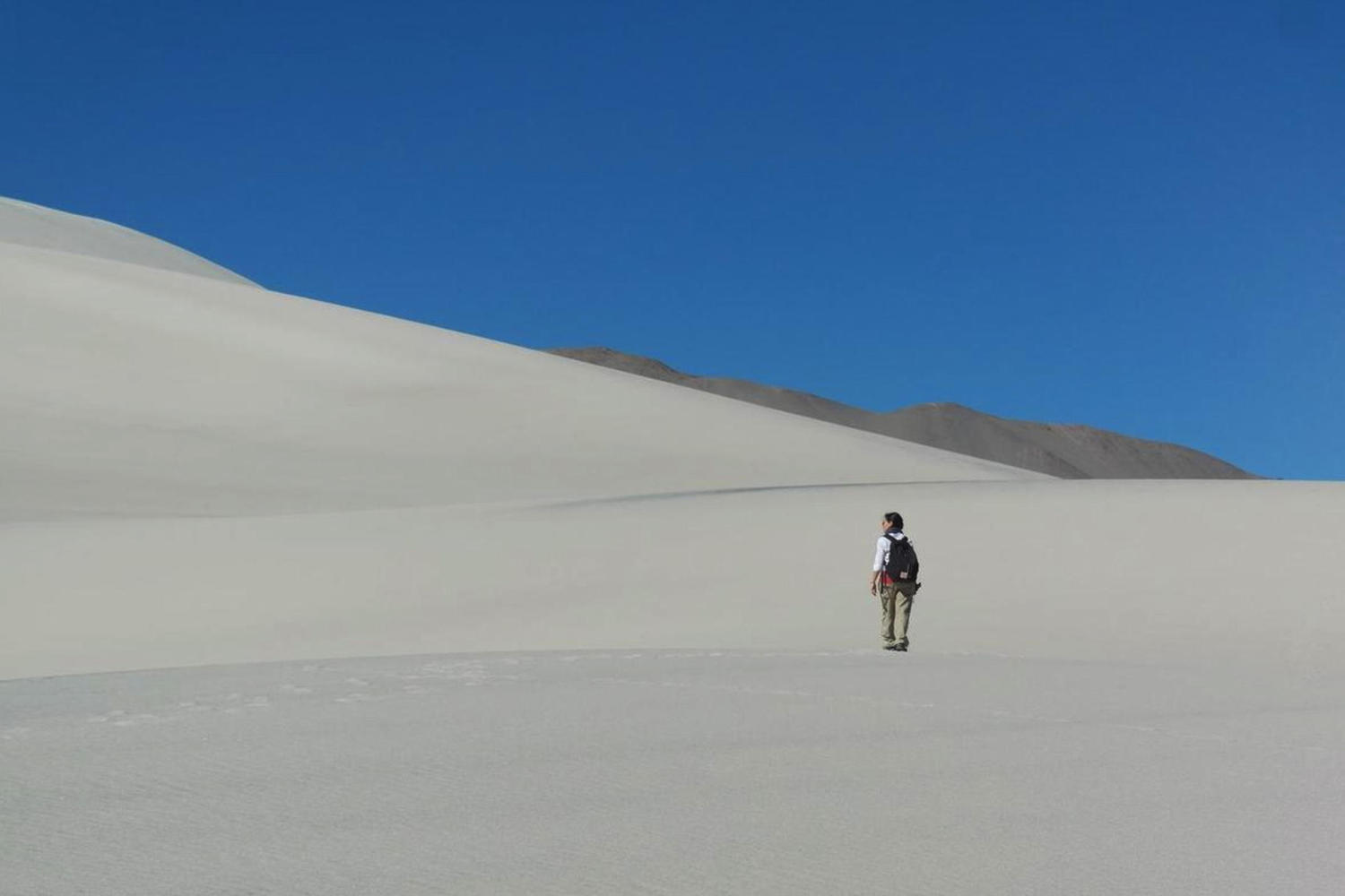 Walking in the emptiness of Argentina's puna