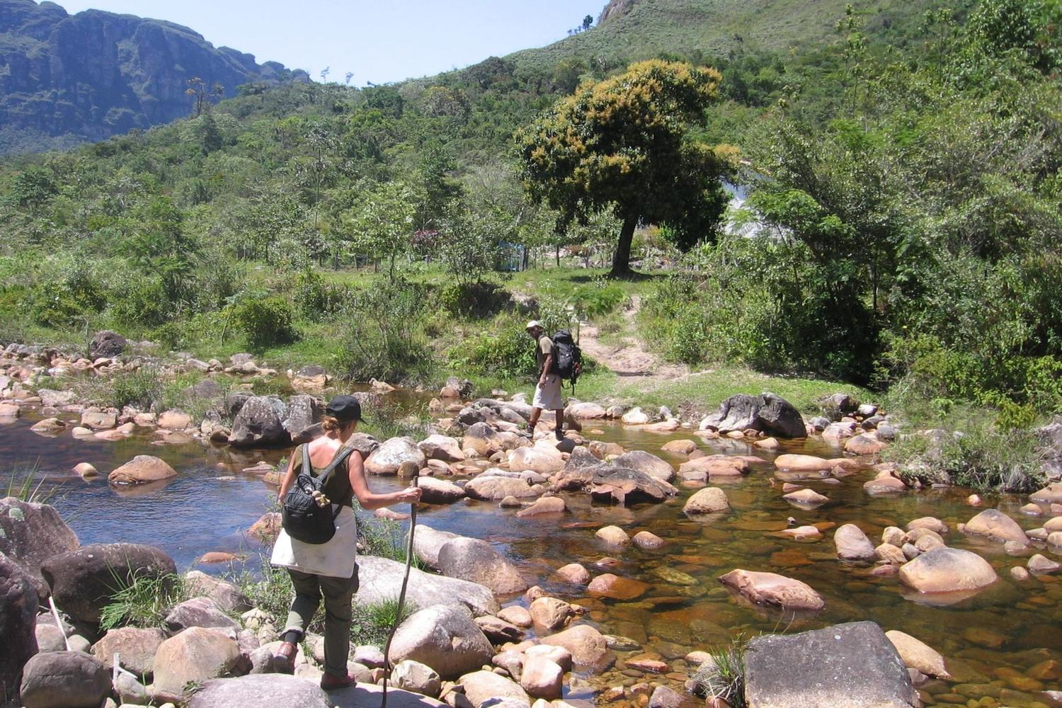 The Pati Valley is a landscape of waterfalls, rivers and mountains