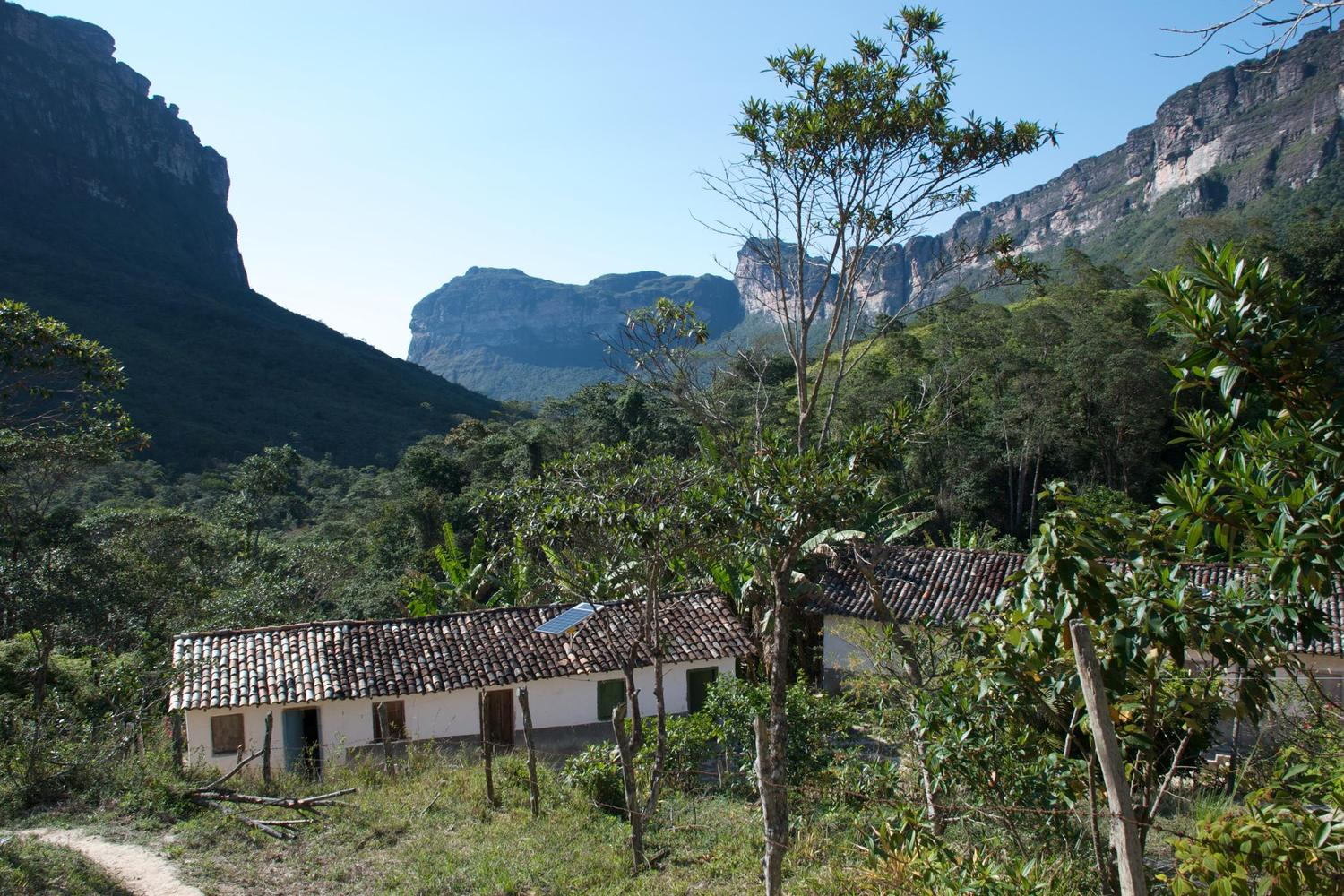 Mr & Mrs Wilson's house in the depths of the Chapada Diamantina