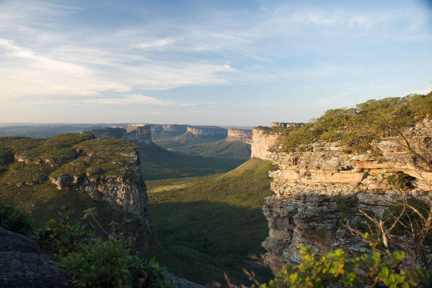 The view from Pao Ignacio hill in the Chapada Diamantina