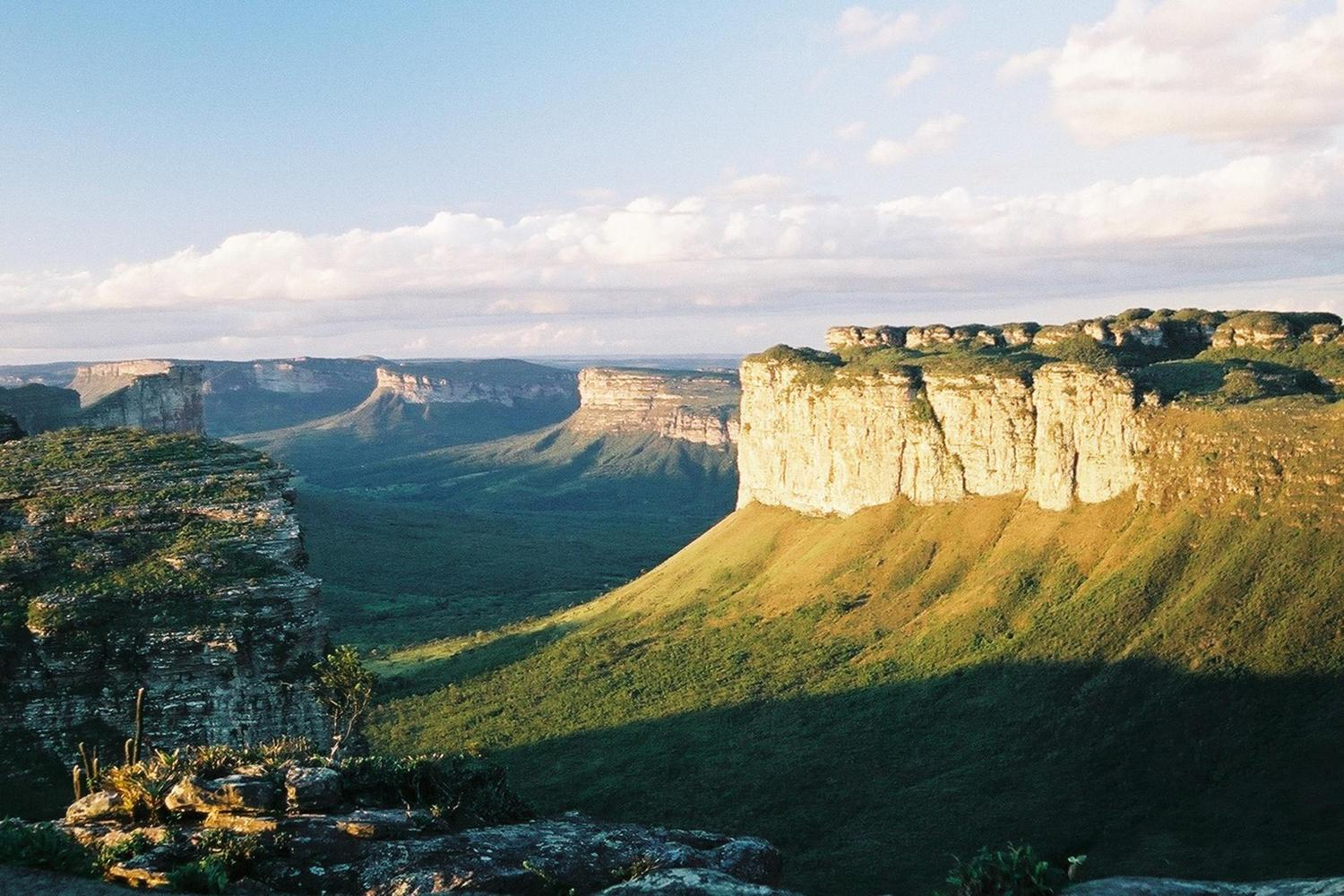 The view from Pao Ignacio, Chapada Diamantina