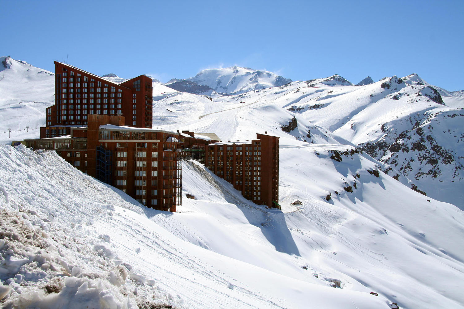 The Chilean ski resort of Valle Nevador