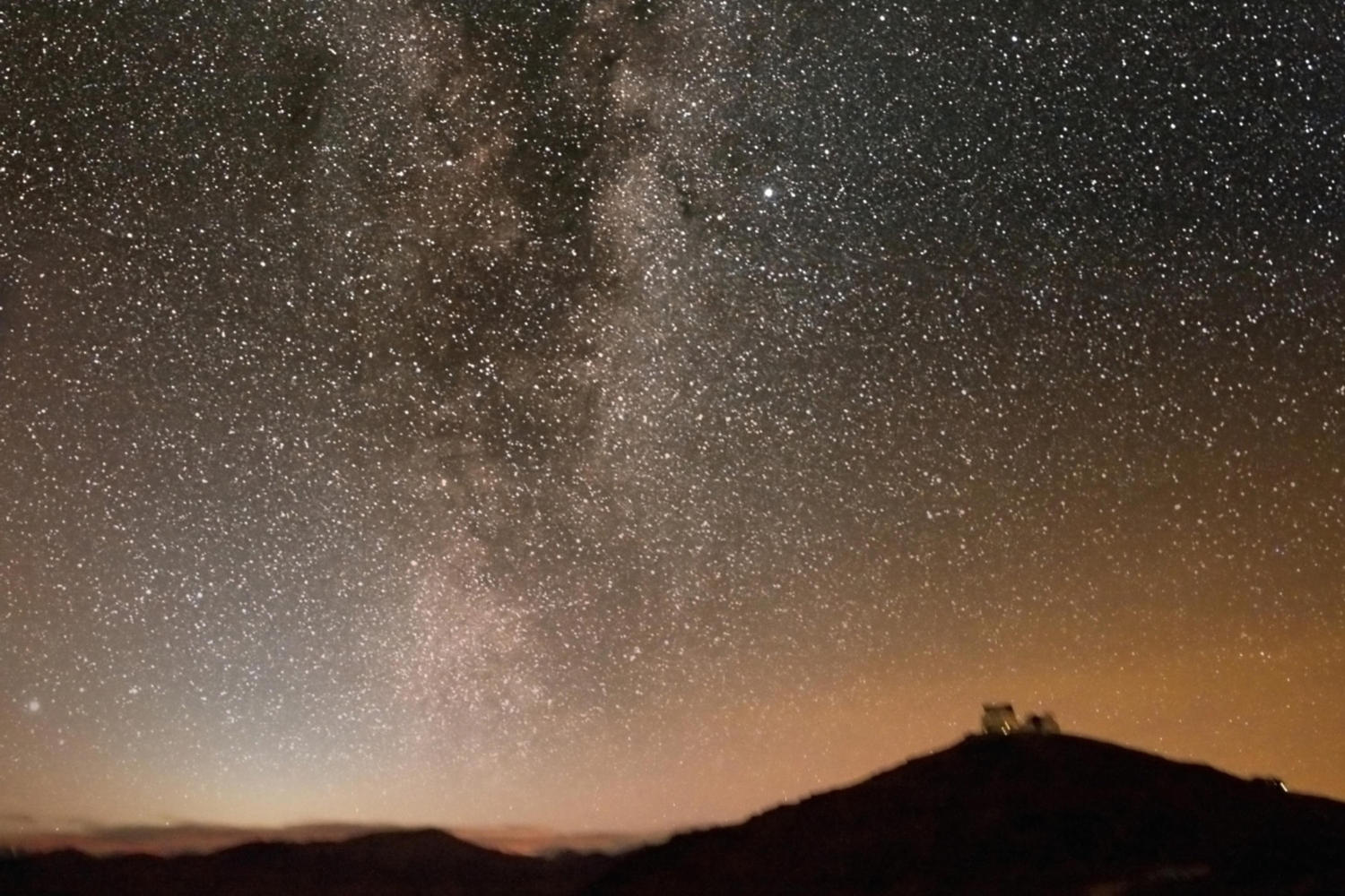 Night skies in the Chilean Andes are incredible