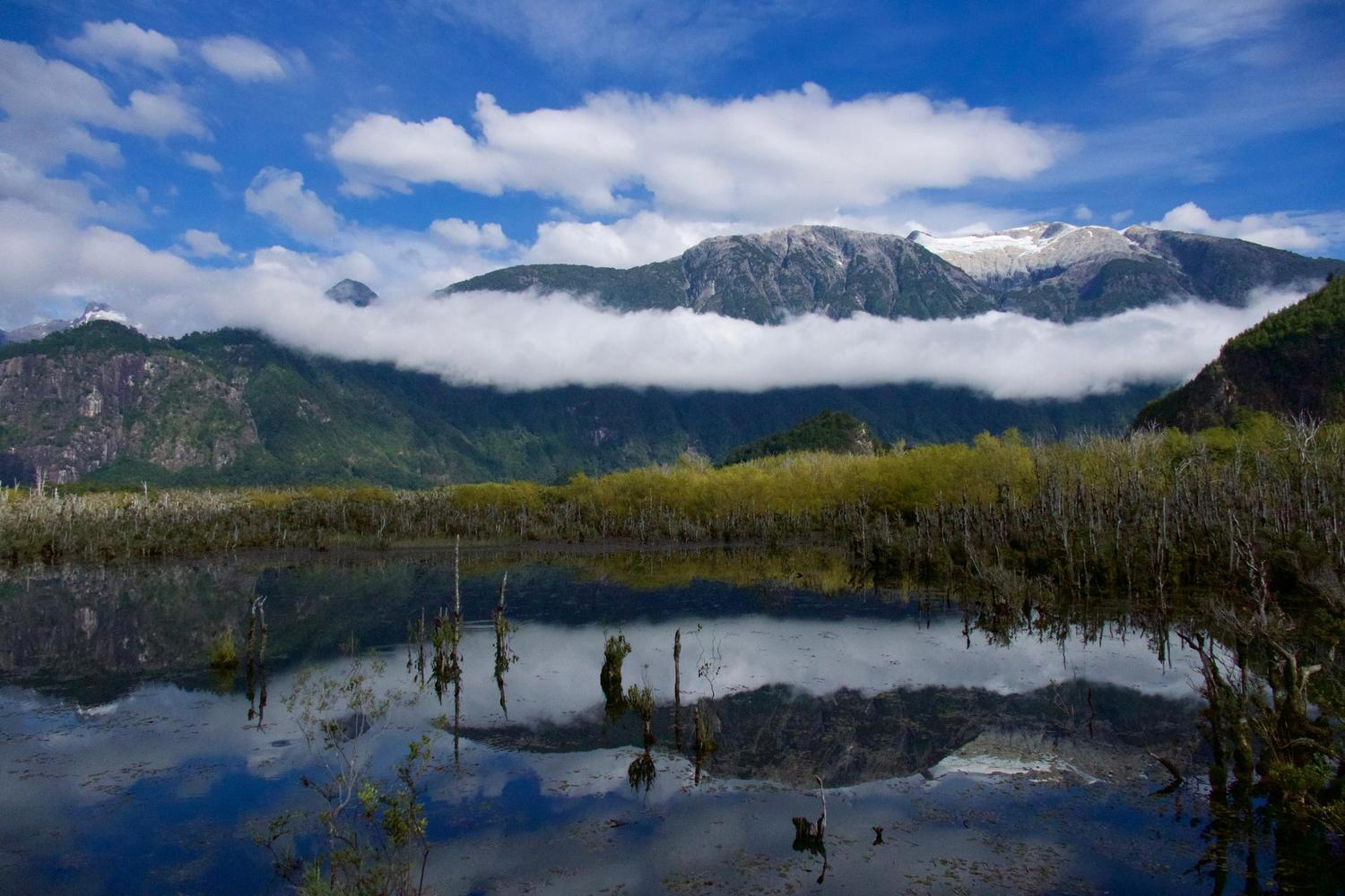 Reflections by the Carretera Austral