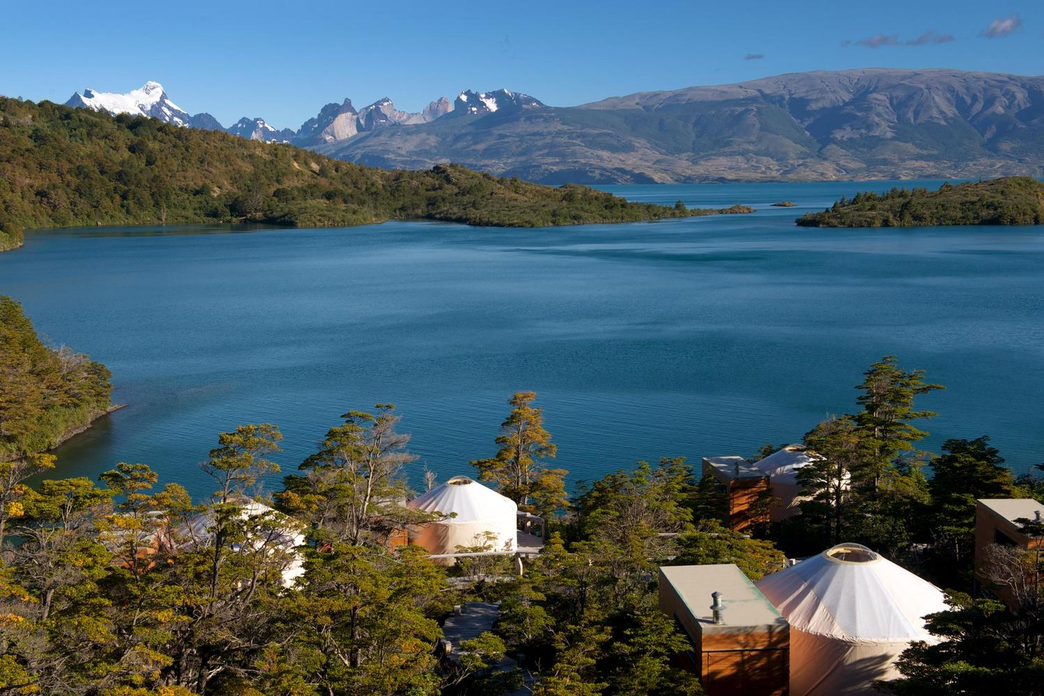 Looking out over Lago Toro from Patagonia Camp