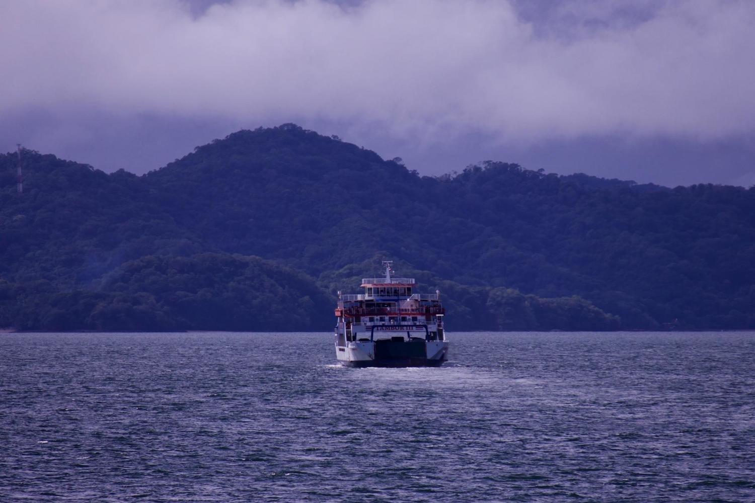 Ferry across the Gulf of Nicoya