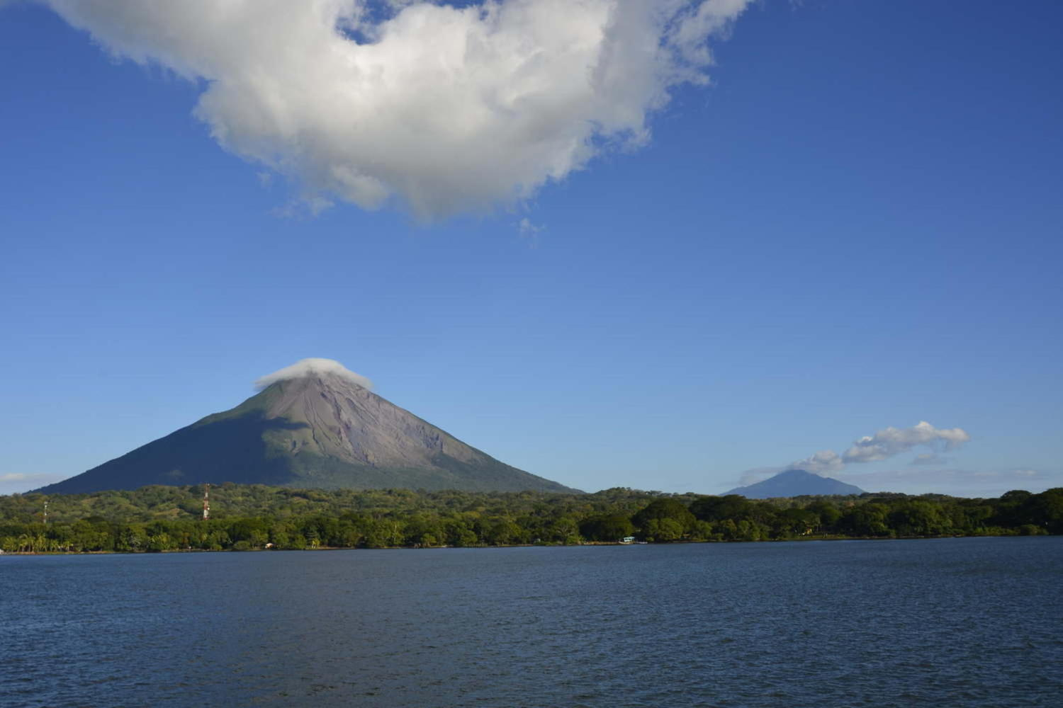 View of Ometepe island