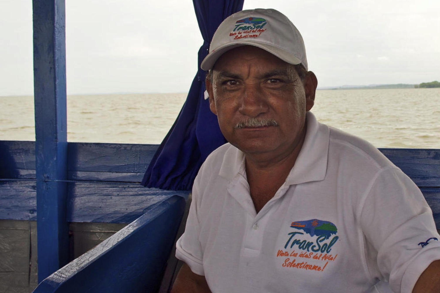 Friendly boat captain in Solentiname
