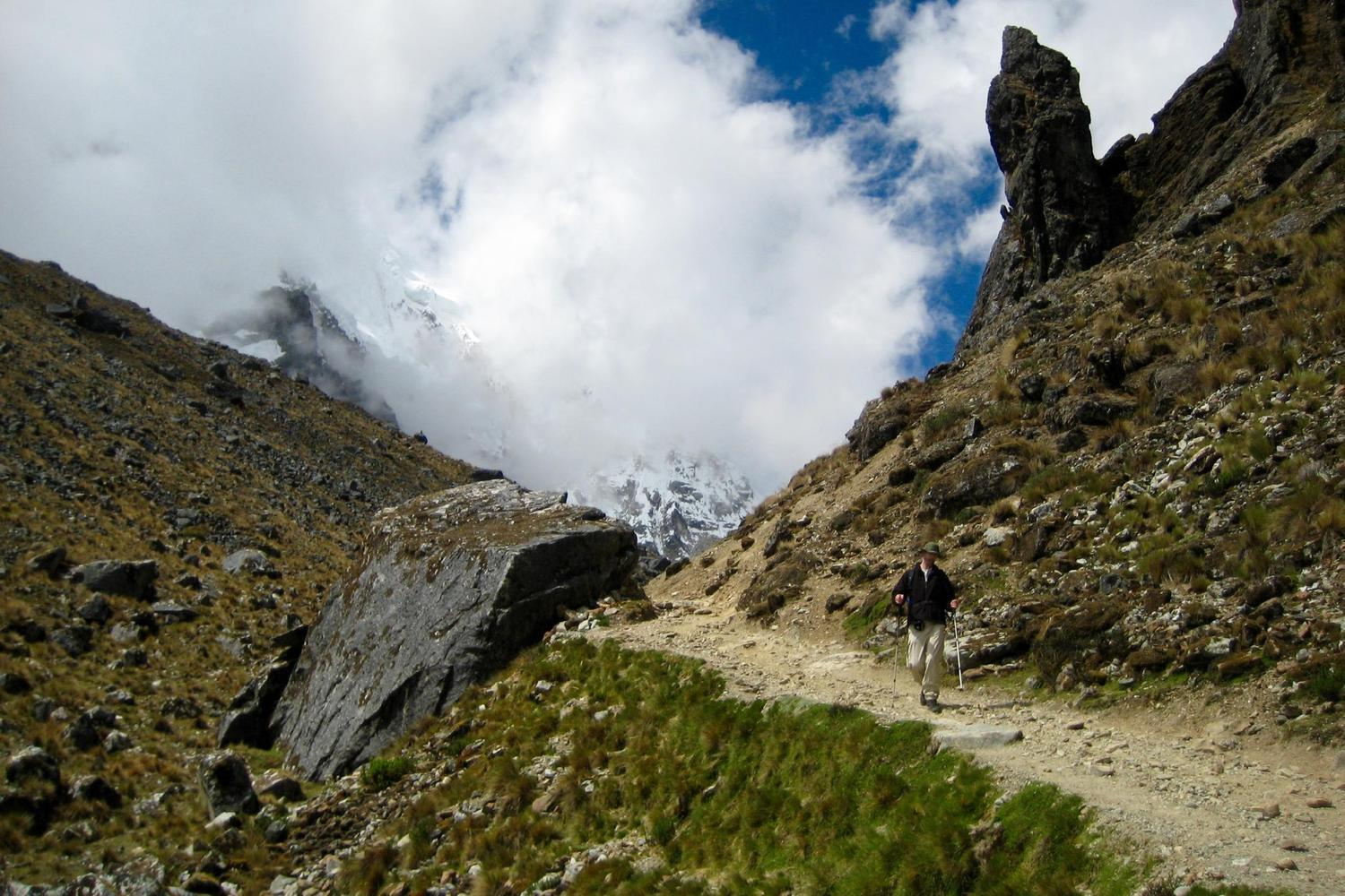 Walking the Salkantay trail