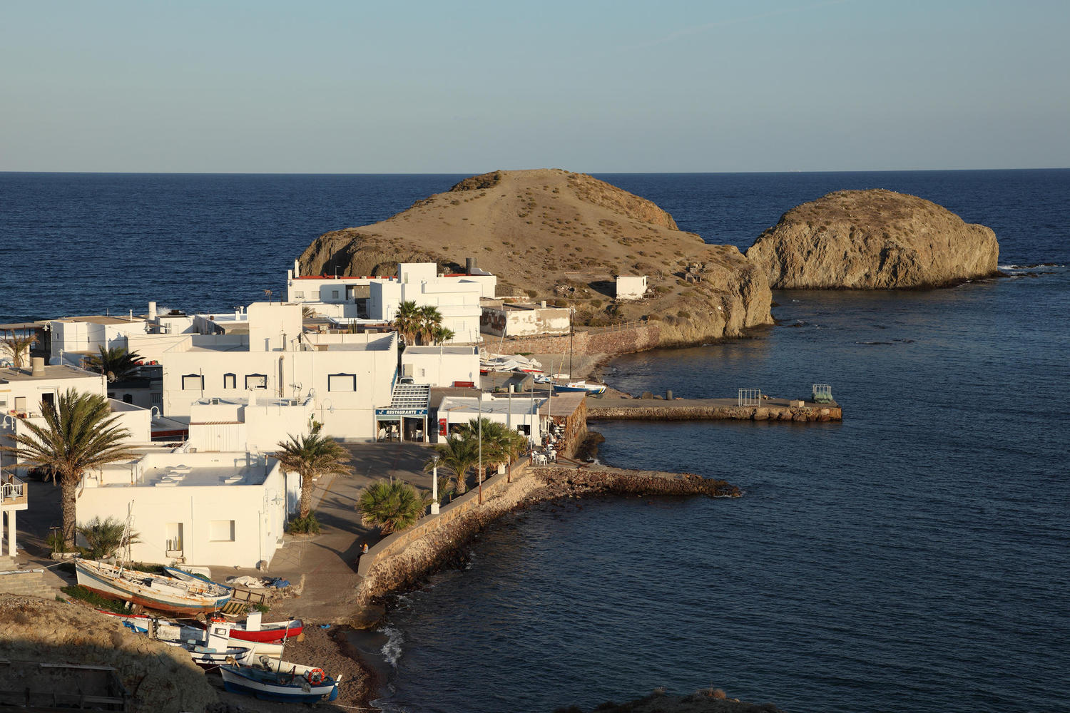 The tiny fishing village of Isleta del Moro, where you can have the best fish cassoulete in the world!
