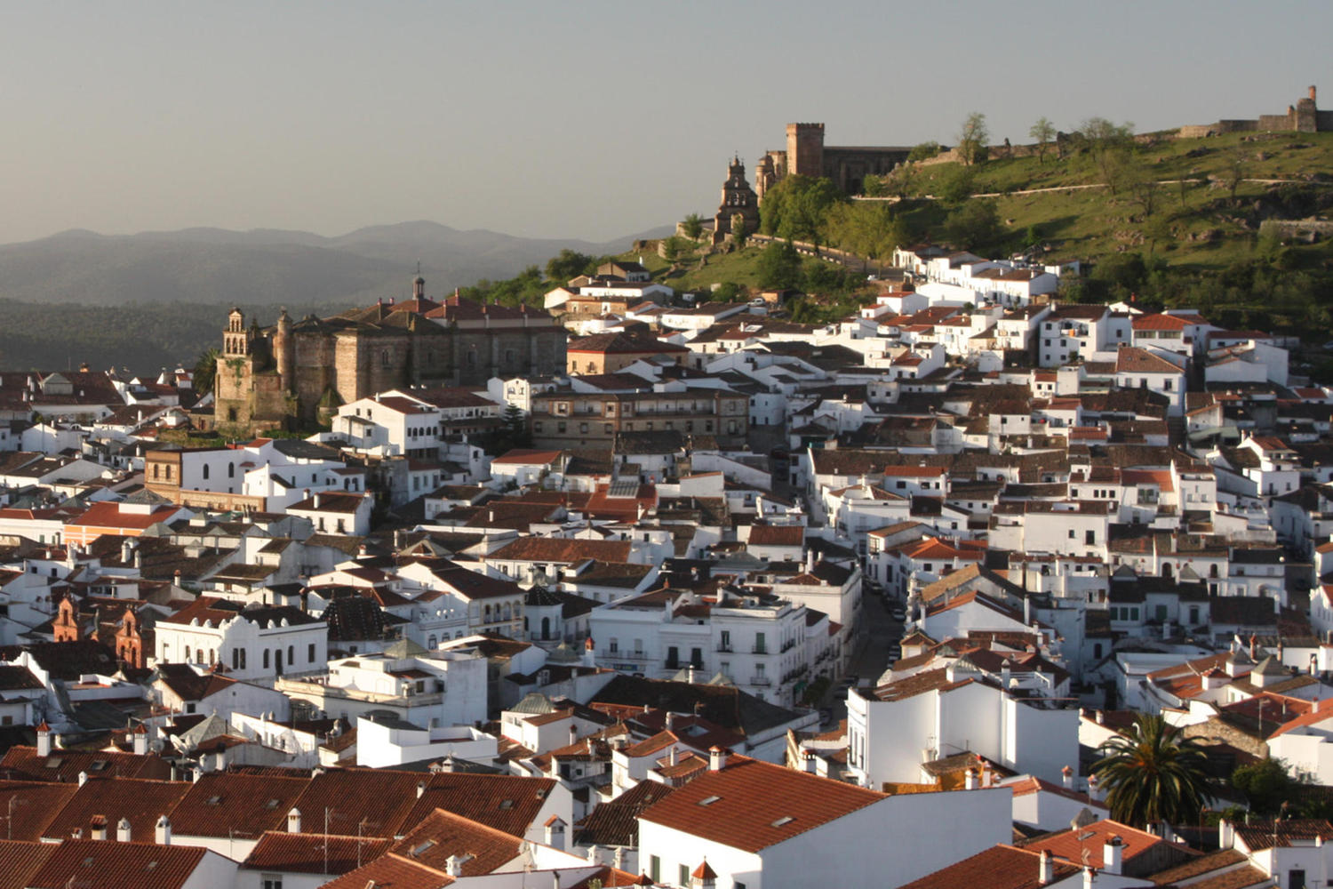 The pictoresque white villages of Aracena.