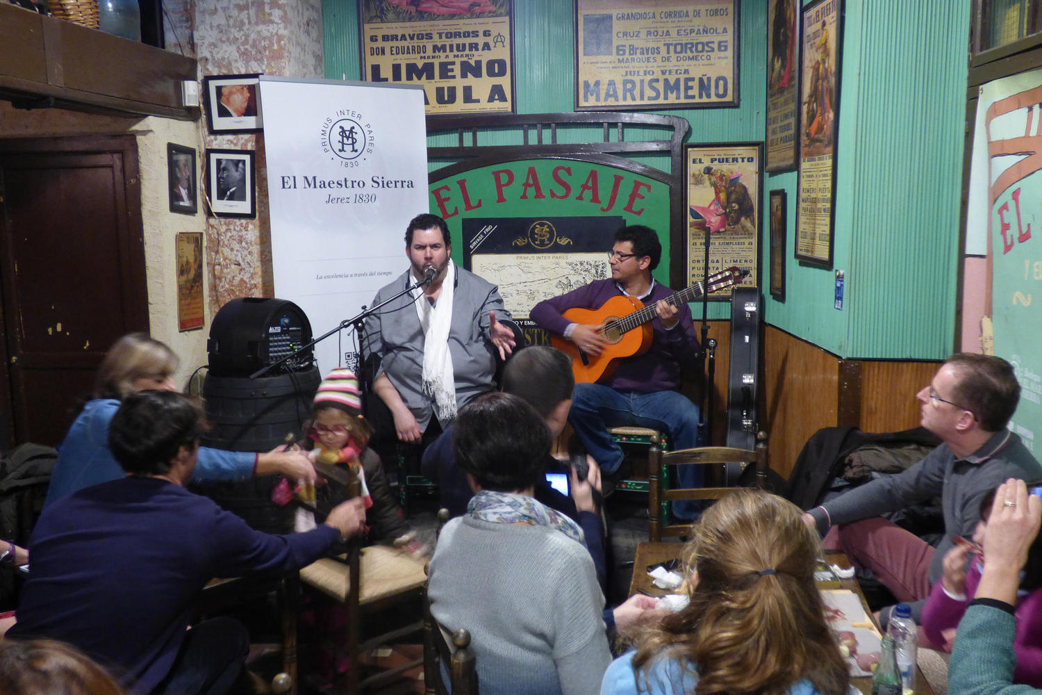 "Live flamenco in a ""tabanco"" wine bar in Jerez"