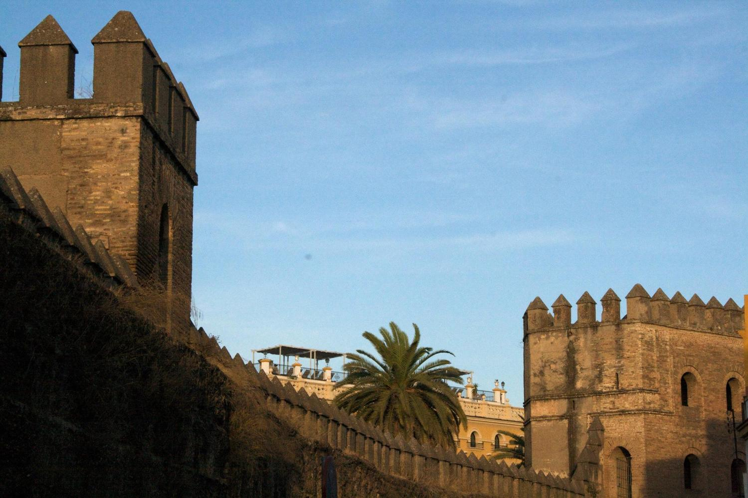 The Almoravid city walls of Seville