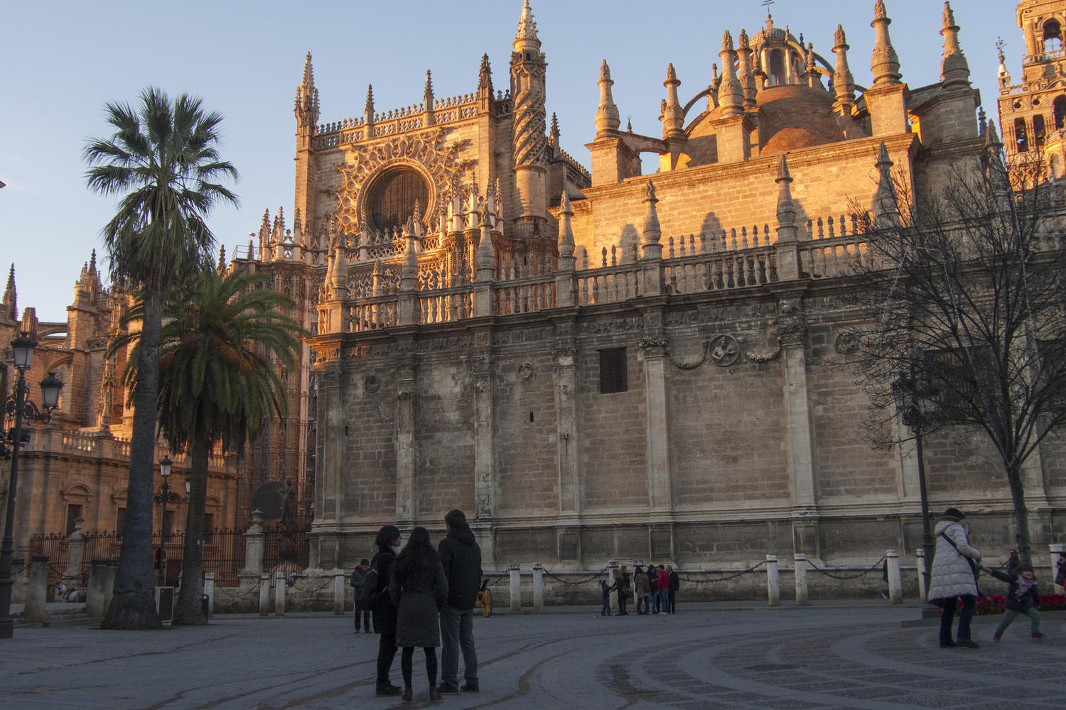 Sunset on the Cathedral, Seville
