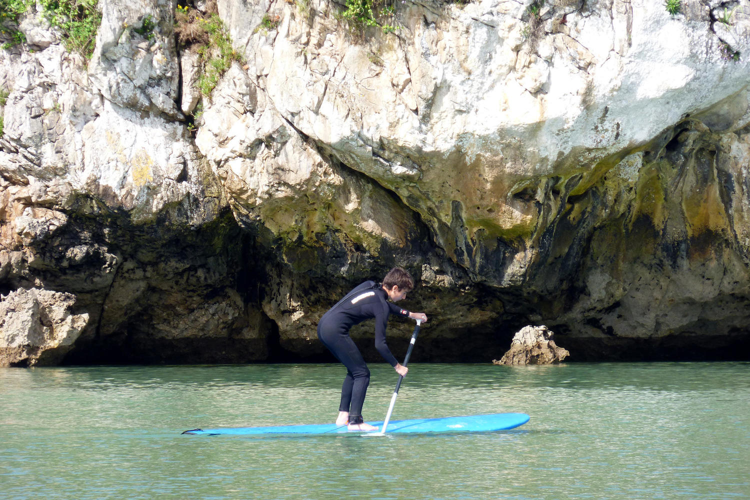 Stand up paddle in Asturias