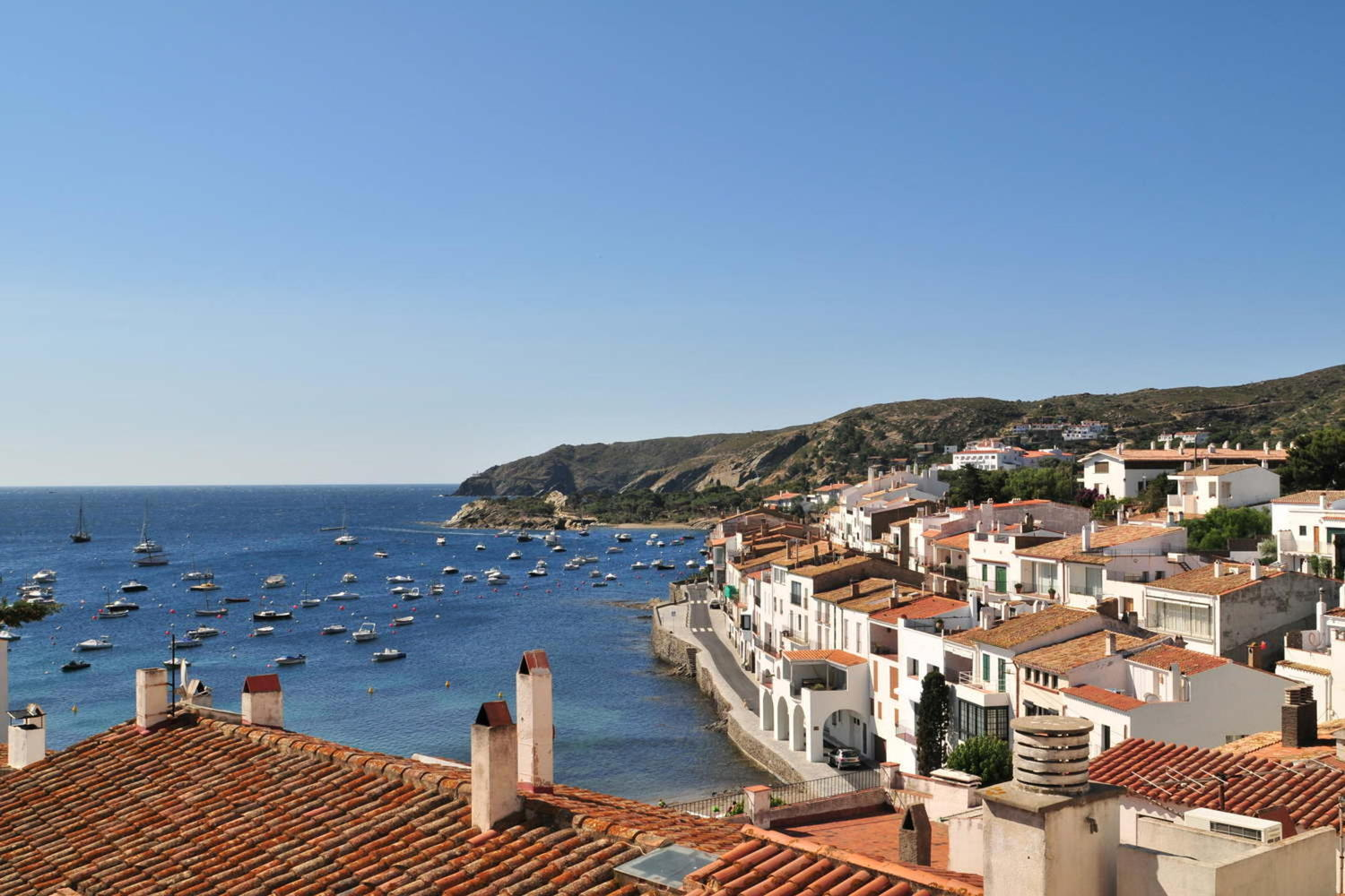 View of the village of Cadaques