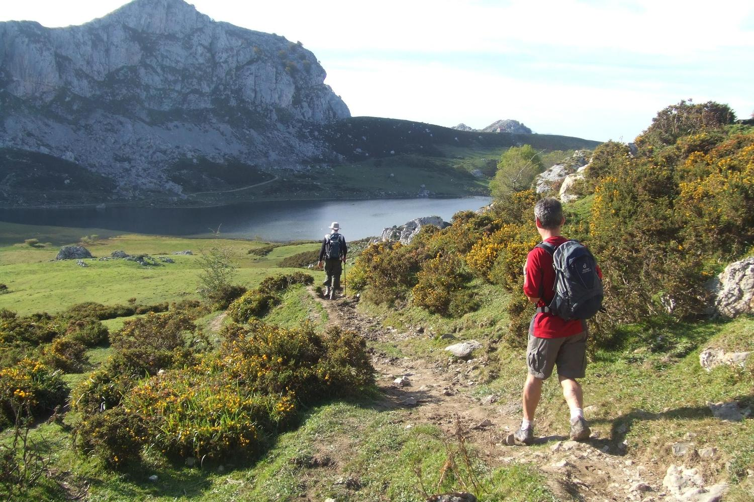 Late summer walking at the Lagos de Covadonga, Picos de Europa