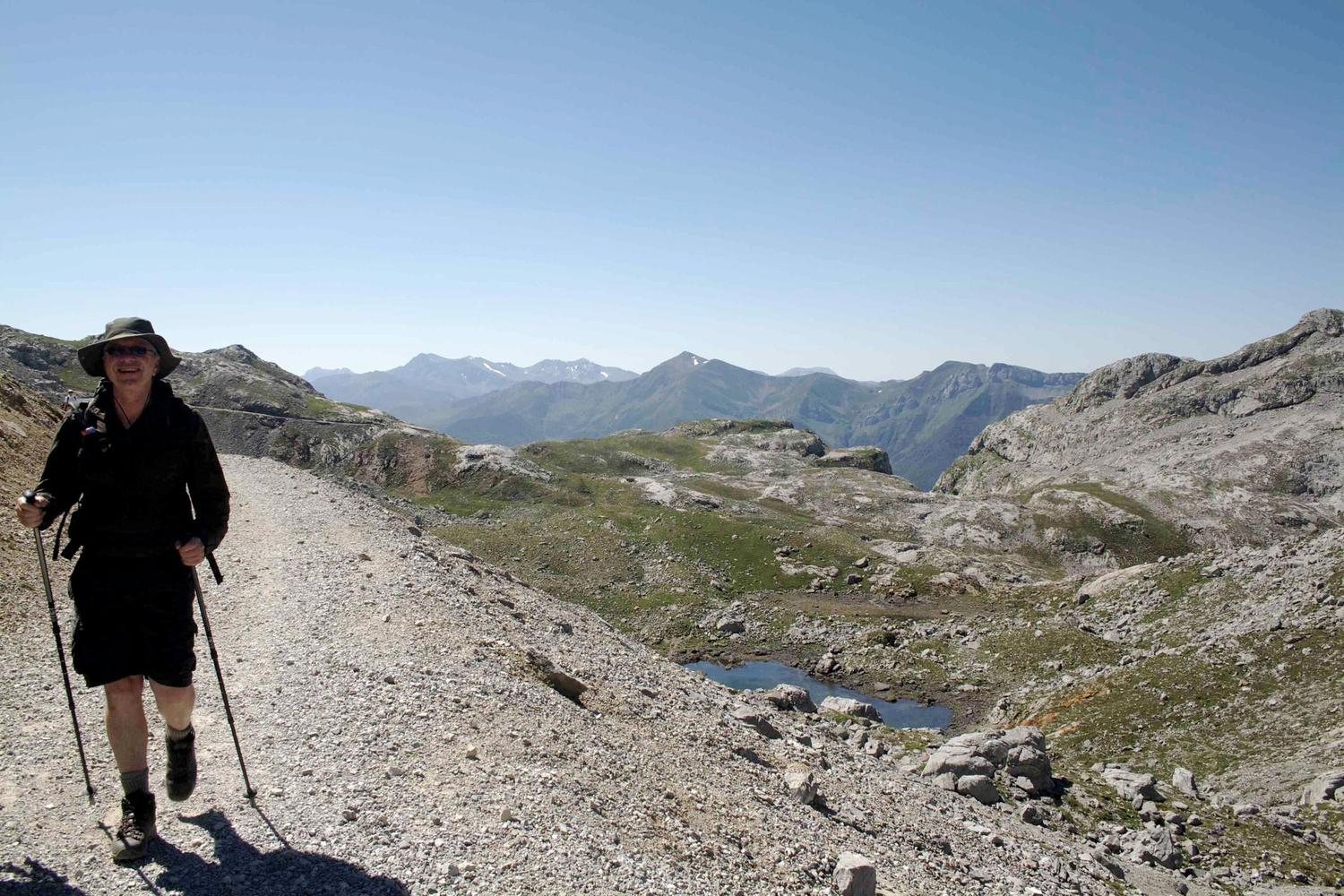 Walking in the limestone highlands of the Picos de Europa