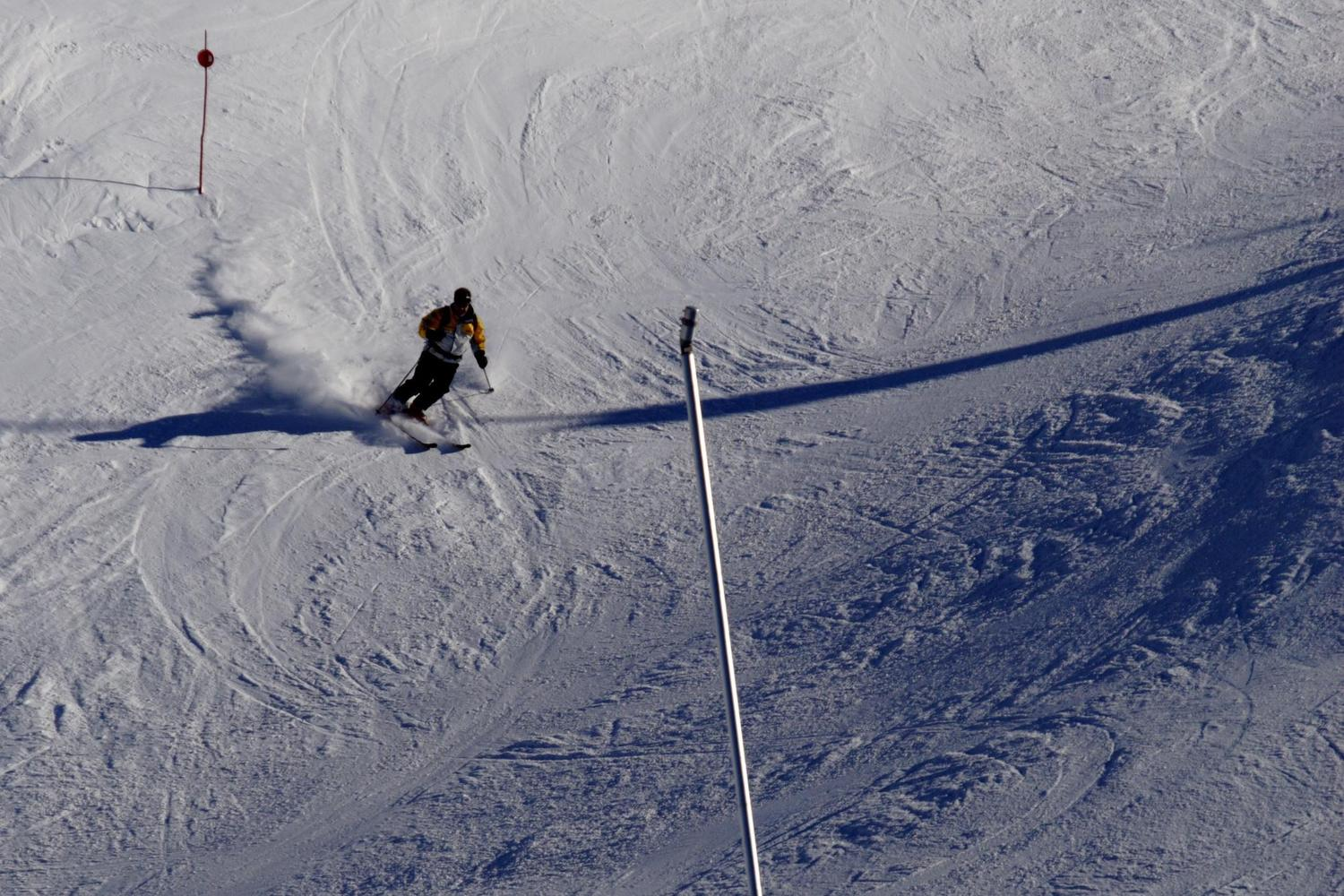 Cerler pistes are well covered by snow blowers