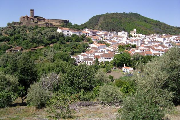 Spain-andalucia-almonaster-church-village-bullring