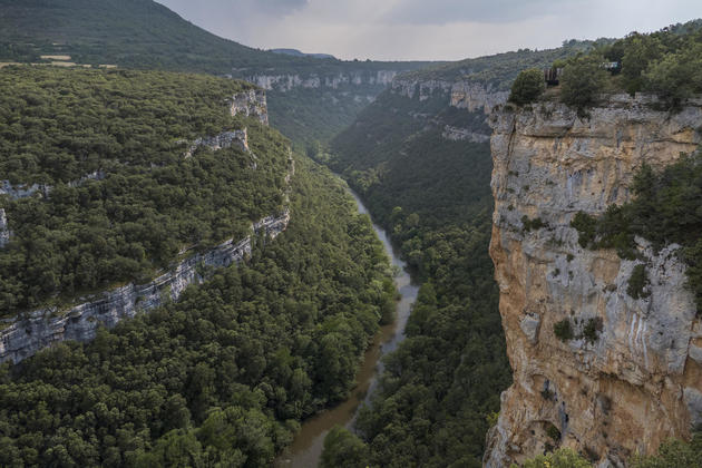 Spain-burgos-ebro-canyon-pesquera-valdelateja