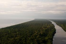 Costa-rica-tortuguero-aerial-view-of-waterways