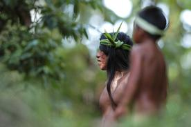 Ecuador-amazon-huaorani-ecolodge-senderos-moi-ready-to-hunt